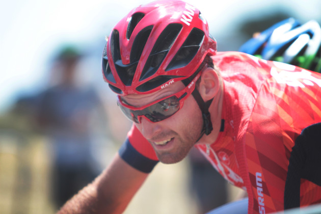 Spotted at the Tour Down Under, the all new KASK eyewear worn by Drapac Professional Cycling.