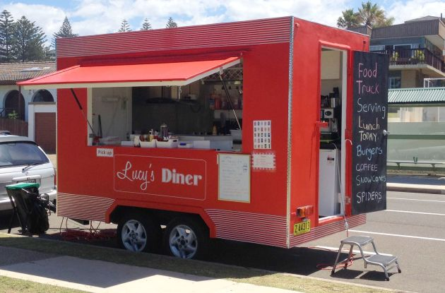 Lucy's Diner operates at one-off events and in certain neighbourhoods of Sydney
