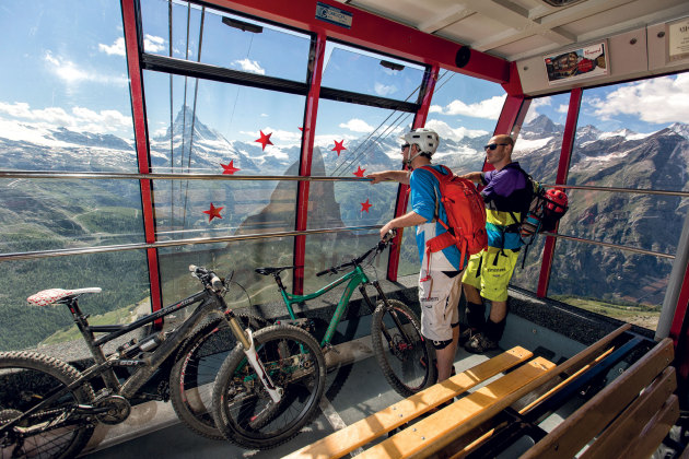 Between the funicular and cog railways and the cable cars, there are plenty of options that'll save your legs - a handy thing at altitude.