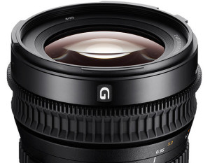 Sony announces 18-110mm f/4 pro cinema lens