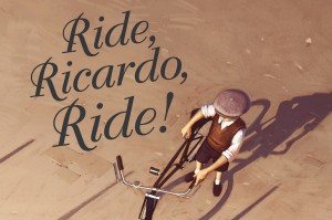 CBCA Short List 2016: Ride, Ricardo, Ride! By Shane Devries