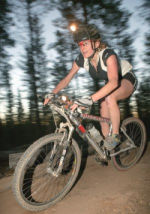 Trails take on a whole different complexion in the dark. Easy singletrack can become challenging without the sun.