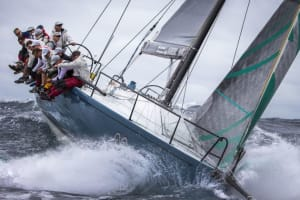 Thrills and spills for day one of the 2017 Australian Yachting Championships