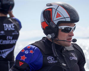 Team New Zealand skipper Glenn Ashby thrilled with early signs from pedal powered America's Cup catamaran
