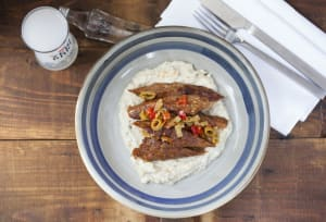 RECIPE: Somer Sivrioglu's lamb kebap with smoked eggplant