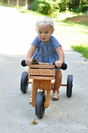 2016 Preschool Toy of the Year – Kinderfeets 2-in-1 Bamboo Tiny Tot Trike from Artiwood Australia