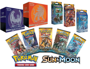 Banter Toys has the Sun and Moon with Pokemon