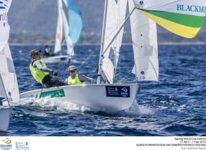 Sailors strive at Hyeres to continue Australia's Olympic successes