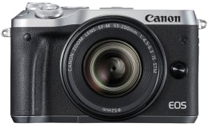 Canon adds selfie-friendly M6 to mirrorless camera lineup