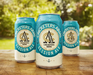 Cricketers Arms launches Session Ale