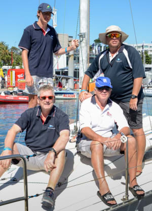 Recycled Reputation earns sailing crew from Darwin 2nd spot in Passage Race