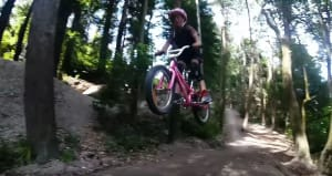 Pint Sized Kiwi MTB Star