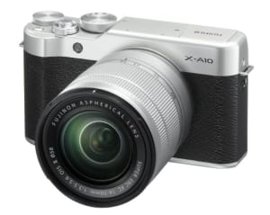 Fujifilm announces entry-level mirrorless X-A10
