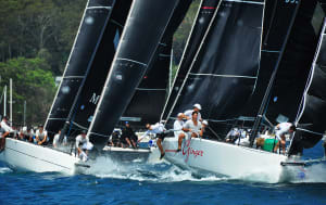 Feisty MC38 Australian Championship first day