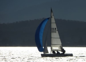 Fleet of 59 enjoys Beyond Bank Regatta on Batemans Bay