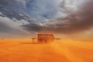 Behind the Lens: Outback Dust Storm