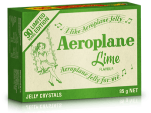 McCormick takes Aeroplane Jelly packs down memory lane