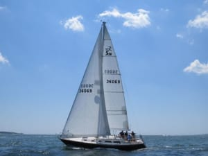 Non-laminated NPC Radian sails from North for performance cruising, one-design and club racing