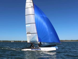 Southport Yacht Club Sailing Academy host first training camp on Nacra 15s