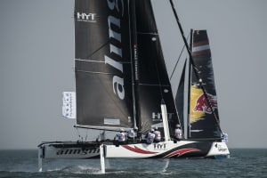 "Challenging Qingdao tests Extreme Sailing Series fleet in Act 2 Qingdao ""Mazarin"" Cup opener"