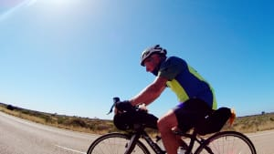 Meet Paul Ardill, The 74 Year Old Riding The Indian Pacific Wheel Race