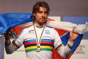VIDEO + Photo Gallery: Peter Sagan Wins Second Consecutive World Championships