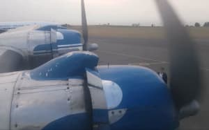FRIDAY FLYING VIDEO: South African DC4