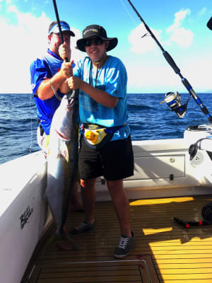 Recaptured kingfish breaks record for most time at liberty