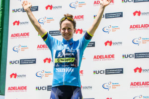 Hosking Storms Home To Win Stage 3 Of Santos Women's Tour, Spratt Retains Lead