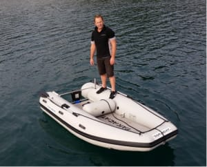 Takacat, a lightweight tender, to be distributed by Multihull Central