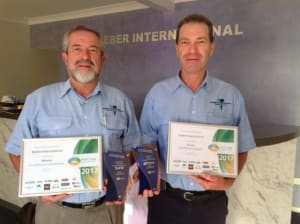 Steber wins innovation and export awards