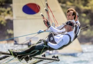 De'Longhi takes faultless win in race two of 18 Footers Australian Championship
