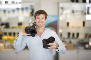 'Touch and try' camera store opening in Brisbane this Friday