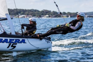 Dalton Duo Win 2017 Australian Sailing Youth Nacra 15 Championship