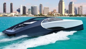 Bugatti takes to the high seas