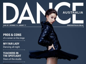 New issue of Dance Australia out now!
