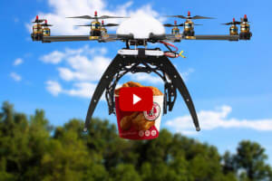Video: Guy flies drone to KFC, gets chicken