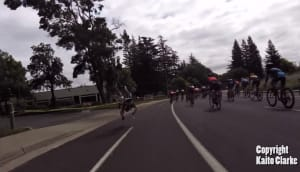 Drone takes out cyclist during race – gets ripped to shreds