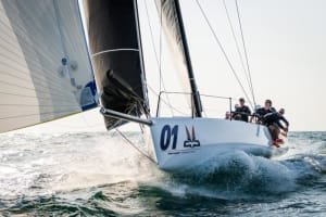 The Melges 40 successfully completes sea trials in Dubai