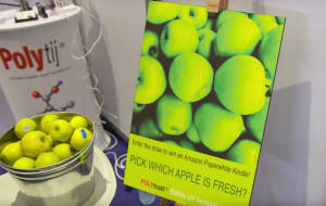 VIDEO: Edible, invisible ink for produce launched at Auspack