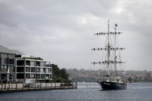 Young Endeavour completes circumnavigation of Australia
