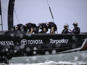 Three contestable positions left in ETNZ America's Cup crew