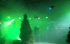 Laser tag event a world first for Mountain Dew