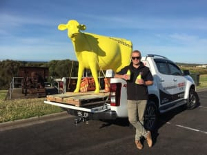 Sungold milk lights up tradies' lives