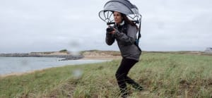 Is the Umbrella helmet the new must-have accessory for photographers?