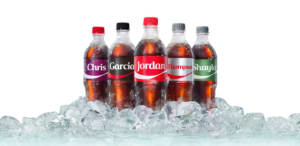 Coca-Cola brings back Share a Coke, this time with last names
