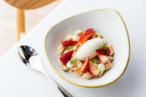 RECIPE: Will Cowper's strawberry pannacotta