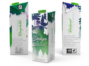 Tetra Pak pushes towards renewable packaging goal with new aseptic carton