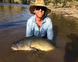 Fisheries working with NSW fishos on Murray Darling flow issues