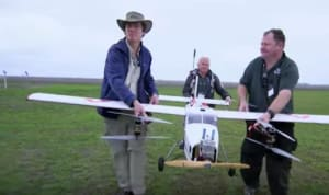 How BBC News reported on the UAV Challenge